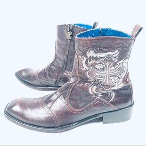 Mark Nason Leather Dragon Boots